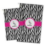 Zebra Golf Towel - Full Print w/ Name or Text