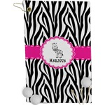 Zebra Golf Towel - Full Print (Personalized)