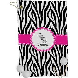 Zebra Golf Towel - Full Print (Personalized)