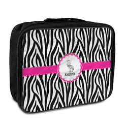 Zebra Insulated Lunch Bag (Personalized)