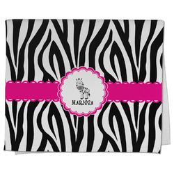 Zebra Kitchen Towel - Full Print (Personalized)