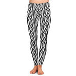 Zebra Ladies Leggings (Personalized)