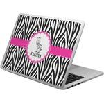 Zebra Laptop Skin - Custom Sized (Personalized)