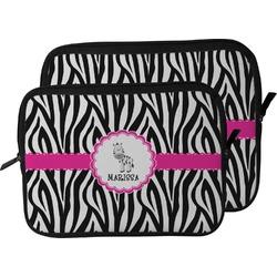 Zebra Laptop Sleeve / Case (Personalized)