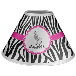 Zebra Coolie Lamp Shade (Personalized)