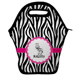 Zebra Lunch Bag (Personalized)