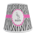 Zebra Empire Lamp Shade (Personalized)