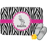 Zebra Memory Foam Bath Mat (Personalized)