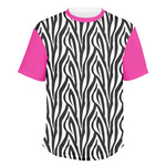 Zebra Men's Crew T-Shirt (Personalized)