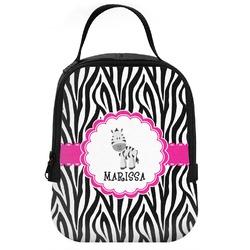 Zebra Neoprene Lunch Tote (Personalized)