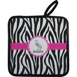 Zebra Pot Holder (Personalized)