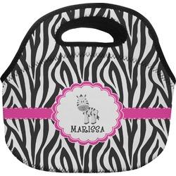 Zebra Lunch Bag (Personalized)