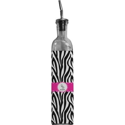 Zebra Oil Dispenser Bottle (Personalized)