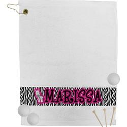 Zebra Golf Bag Towel (Personalized)