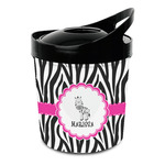 Zebra Plastic Ice Bucket (Personalized)