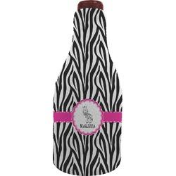 Zebra Wine Sleeve (Personalized)