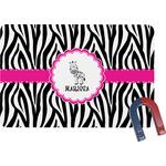 Zebra Rectangular Fridge Magnet (Personalized)