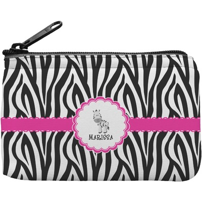 Zebra Rectangular Coin Purse (Personalized)
