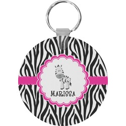 Zebra Keychains - FRP (Personalized)