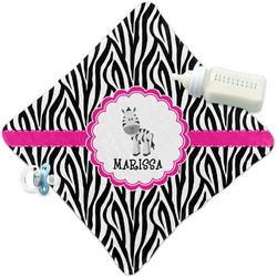 Zebra Security Blanket (Personalized)