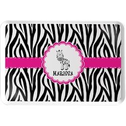 Zebra Serving Tray (Personalized)