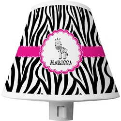 Zebra Shade Night Light (Personalized)