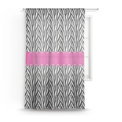 "Zebra Sheer Curtain - 50""x84"" (Personalized)"