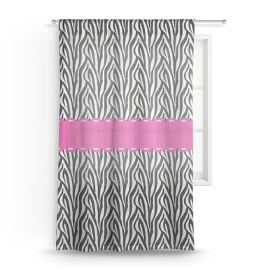 Zebra Sheer Curtains (Personalized)
