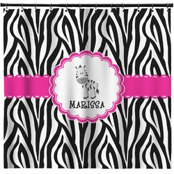 Zebra Shower Curtain (Personalized)