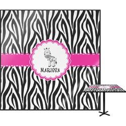 Zebra Square Table Top (Personalized)