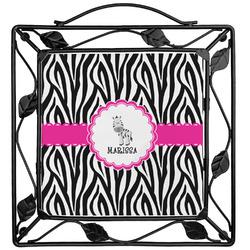 Zebra Trivet (Personalized)