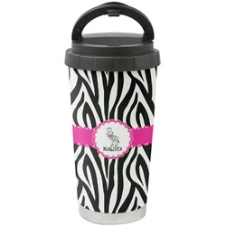 Zebra Stainless Steel Coffee Tumbler (Personalized)