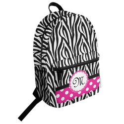 Zebra Student Backpack (Personalized)