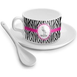Zebra Tea Cup - Single (Personalized)