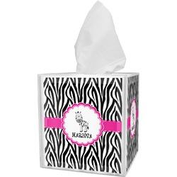 Zebra Tissue Box Cover (Personalized)