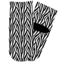Zebra Toddler Ankle Socks (Personalized)