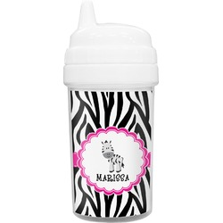 Zebra Toddler Sippy Cup (Personalized)