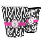 Zebra Waste Basket (Personalized)