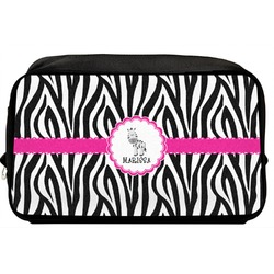 Zebra Toiletry Bag / Dopp Kit (Personalized)