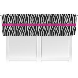 Zebra Valance (Personalized)