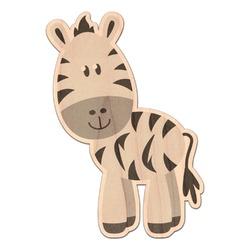 Zebra Genuine Wood Sticker (Personalized)
