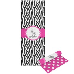 Zebra Yoga Mat - Printable Front and Back (Personalized)