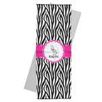 Zebra Yoga Mat Towel (Personalized)