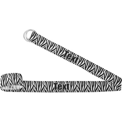 Zebra Yoga Strap (Personalized)