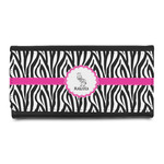 Zebra Leatherette Ladies Wallet (Personalized)