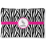 Zebra Zipper Pouch (Personalized)