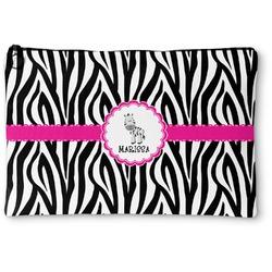 Zebra Zipper Pouch (Personalized)