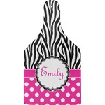 Zebra Print & Polka Dots Cheese Board (Personalized)