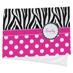 Zebra Print & Polka Dots Cooling Towel (Personalized)