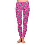 Zebra Print & Polka Dots Ladies Leggings (Personalized)